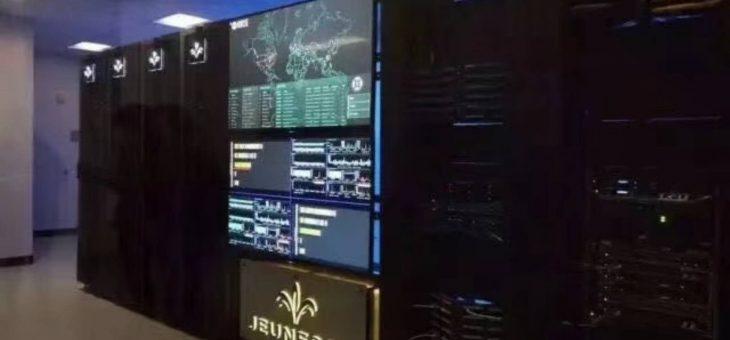 【公司实力】看看婕斯公司的服务器多么地强大!