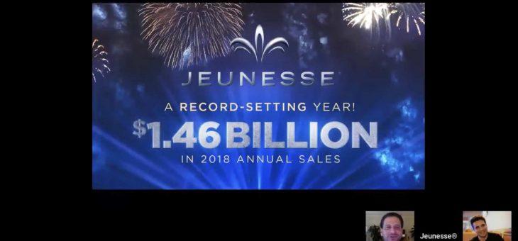 2018 婕斯公司营销 14.6亿美金!